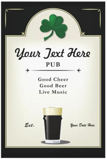 PubSign_Irish